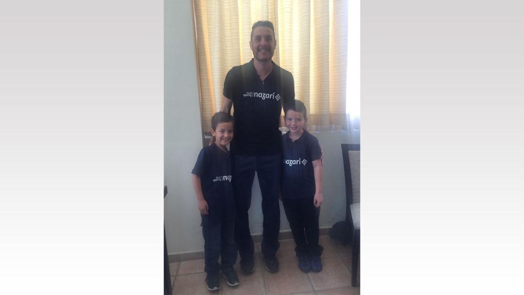 Marco Sanromán, David Alonso y Agustín Alonso - Club Ajedrez Nazarí
