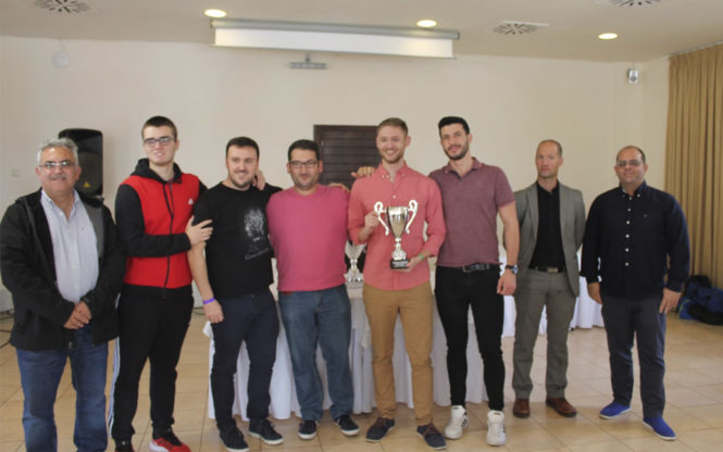 Club Ajedrez Nazarí Subcampeón de Andalucía por equipos 2019