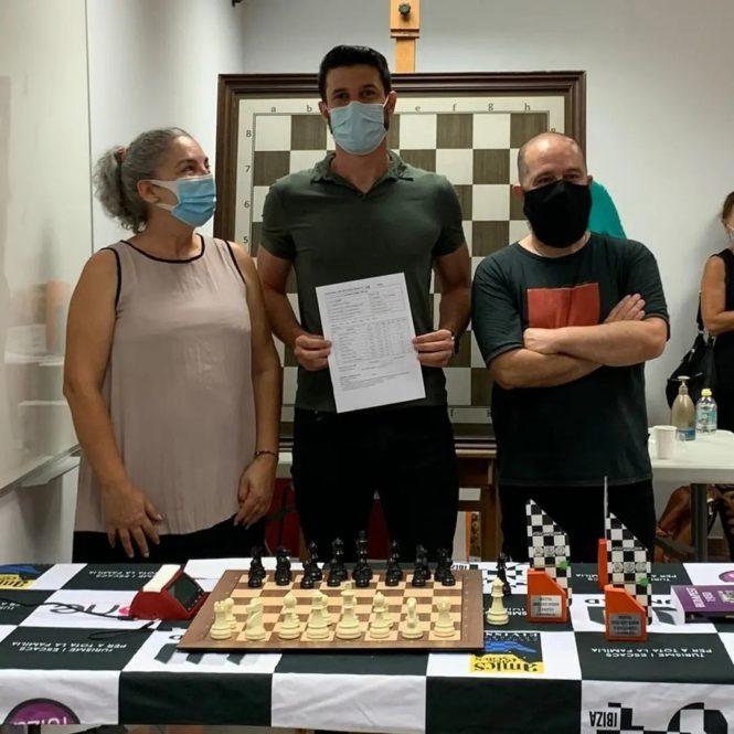 Marcos Camacho Collados Campeón Magistral Eivissa 2021